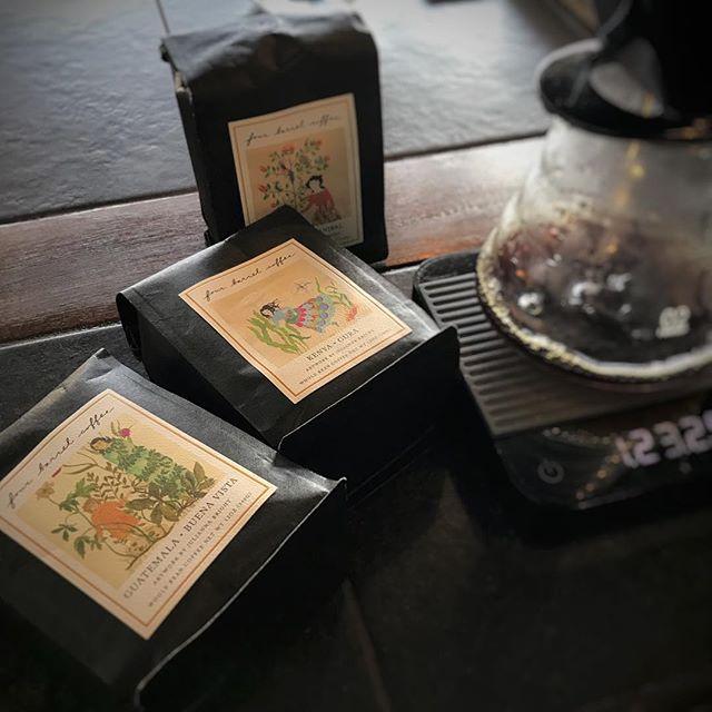 おはようございますFourbarrel から新しい豆が届きましたKenya GuraGuatemala Buena VistaNicaragua Anibalコーヒー豆の販売もしているので、是非お買い求め下さい!#coffee #coffeetime #fourbarrel #sunnyscoffee #cafe #コーヒー #latte #栃木カフェ #大田原