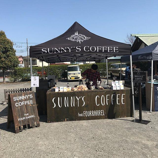 本日は2nd.tochigicoffeefestival10時より開催です!是非お越しください!#tochigicoffeefestival #coffee #sunnyscoffee #coffeeshop