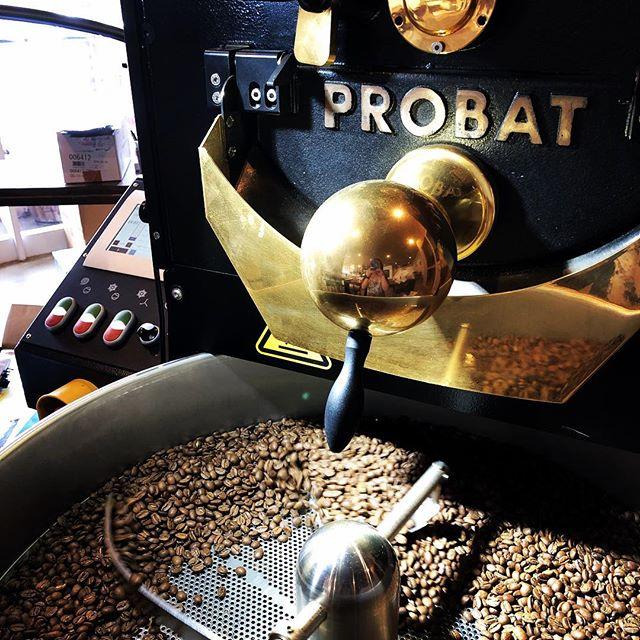 おはようございます!サニーズコーヒーです。今日も美味しいコーヒー焙煎中です!是非飲みにいらしてください︎おまちしてます。・#sunnyscoffee #coffee #espresso #coffeetime #cafe #colombia #costarica #ethiopia #サニーズコーヒー#コーヒー#カフェ#ラテ#栃木#大田原
