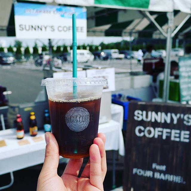 こんにちは!本日は大田原クリテリウムに出店しております!暑いですが、皆さま熱中症には気をつけてください!#sunnyscoffee #coffee #栃木県 #大田原 #roadbike