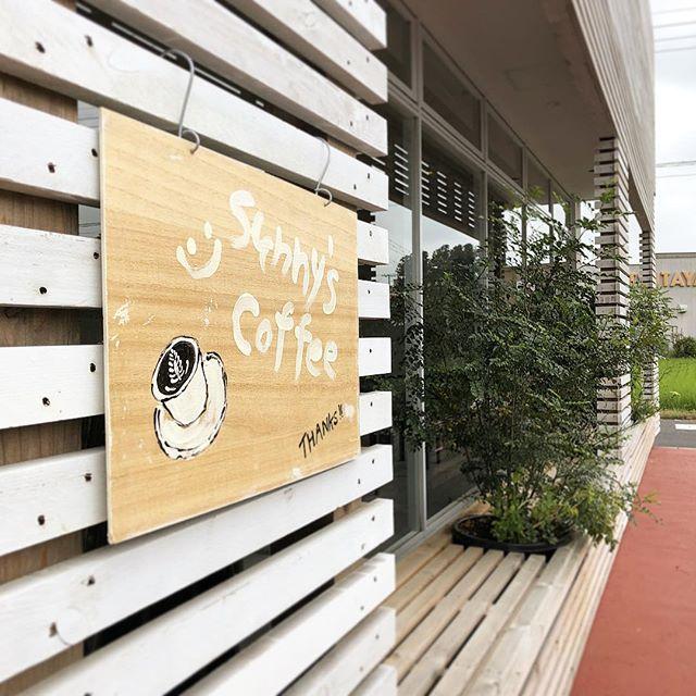 sunny's coffeeは今日も9時から18時まで営業しております。#sunnyscoffee #coffee #cafe #espresso #latte #tochigi #コーヒー#カフェ#栃木カフェ #生パスタ