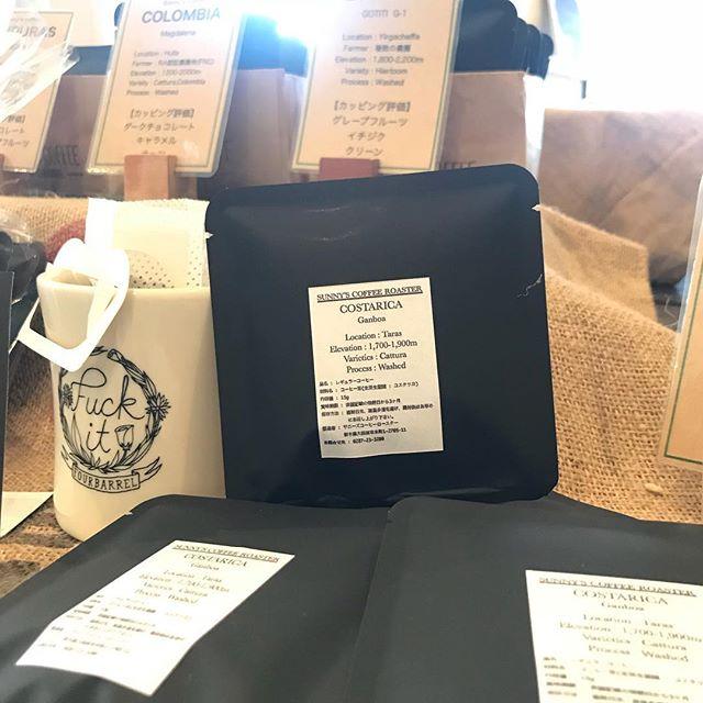 こんにちは!本日も9:00〜18:00まで営業しております!手軽に淹れられるドリップパックはいかがですか?お土産にもおススメです!#sunnyscoffee #coffee #coffeeshop #cafe #espresso #lunch