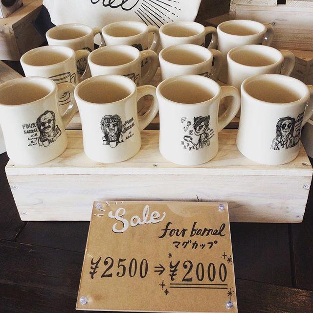 おはようございます。fourbarrel coffeeのマグカップが、ディスカウントで販売中です!イベント等で一度使用してあるので、定価よりお安くしてあります。#sunnyscoffee #coffee#cafe#fourbarrel#sanfrancisco #magcup #discount#サニーズコーヒー#コーヒー#カフェ#マグカップ#フォーバレルコーヒー#サンフランシスコ#大田原カフェ#栃木カフェ