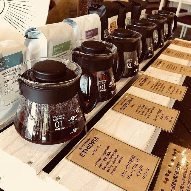 おはようございます!今日は肌寒い一日となりそうですね。そんな日には、サニーズコーヒーで温かいコーヒーでもいかがですか?新しく、試飲コーナーが出来ましたので、お気軽にお試しくださいませ!#sunnyscoffee #coffee #cafe#espresso #late#コーヒー#ラテ#自家焙煎#大田原カフェ